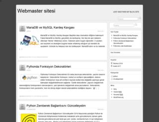 webmaster.gamet.com.tr screenshot