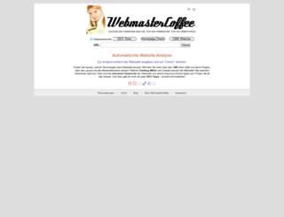webmastercoffee.com screenshot