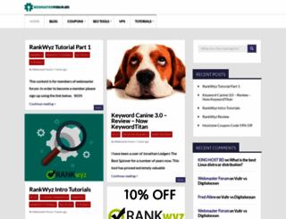 webmasterforum.ws screenshot
