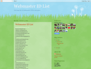 webmasterid-list.blogspot.in screenshot