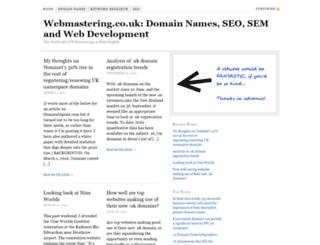 webmastering.co.uk screenshot