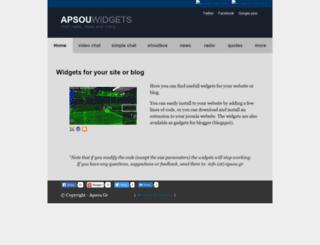 webmasters.apsou.gr screenshot