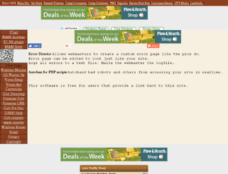 webmasters.winnfreenet.com screenshot