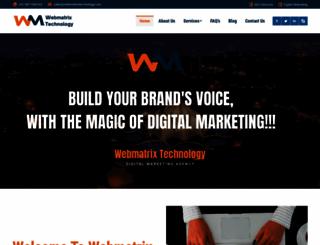 webmatrixtechnology.com screenshot