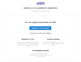 webmb.co.vu screenshot