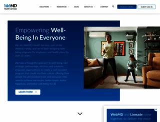 webmdhealth.com screenshot