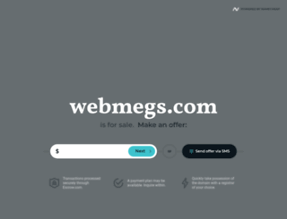 webmegs.com screenshot