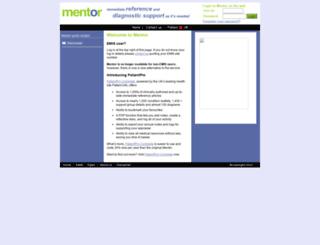 webmentorlibrary.com screenshot