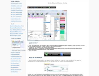 webmenumaker.com screenshot