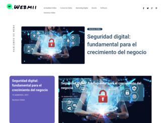 webmii.es screenshot