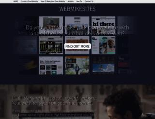 webmikesites.com screenshot