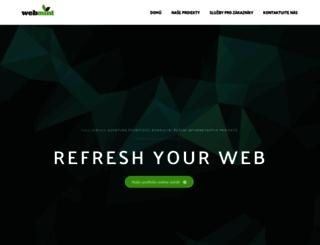 webmint.cz screenshot