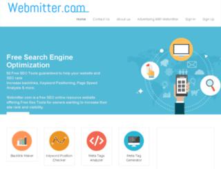webmitter.com screenshot
