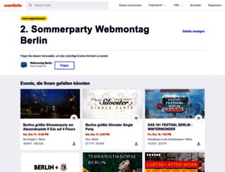 webmontagsommerparty2.eventbrite.de screenshot