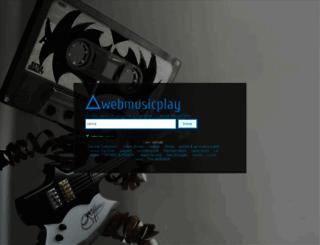 webmusicplay.com screenshot