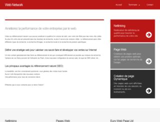 webnetwork.be screenshot