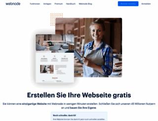 webnode.at screenshot