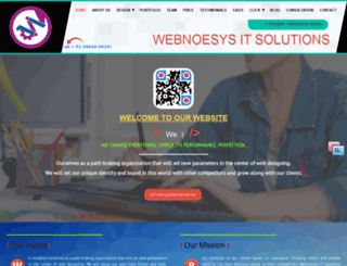 webnoesys.com screenshot