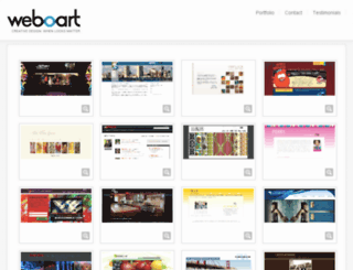 weboart.com screenshot