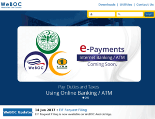 weboc.gov.pk screenshot