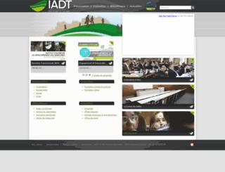 webodonto.u-clermont1.fr screenshot