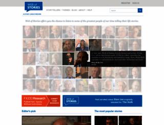 webofstories.com screenshot