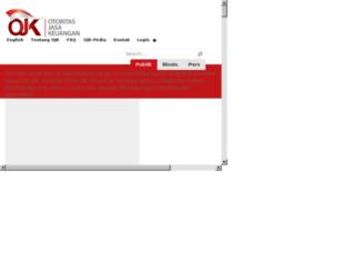 webojk.ojk.go.id screenshot