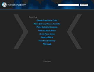 weboncrust.com screenshot