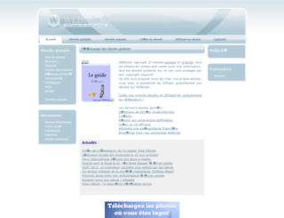 webooks.fr screenshot