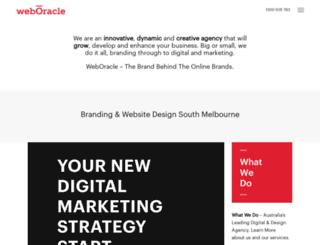 weboracle.com.au screenshot