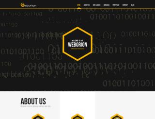 weborion.in screenshot