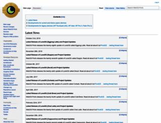 webos-ports.org screenshot