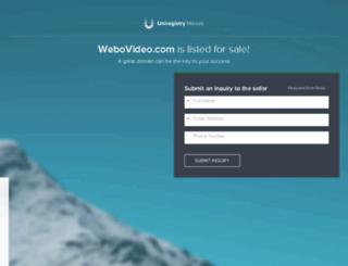 webovideo.com screenshot