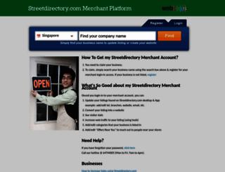 webpages.streetdirectory.com screenshot
