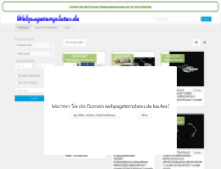 webpagetemplates.de screenshot