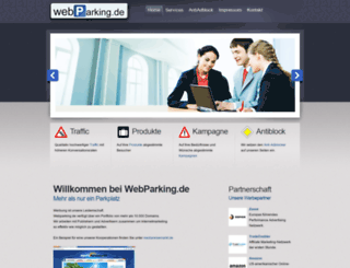 webparking.de screenshot