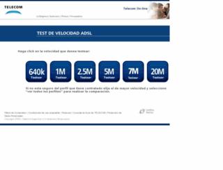 webpatron.telecom.com.ar screenshot