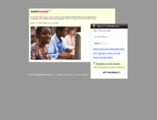 webpay.etranzact.com screenshot