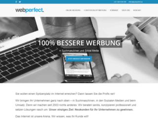 webperfect.at screenshot