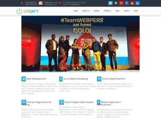 webpers.com screenshot