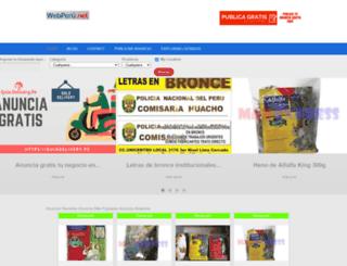 webperu.net screenshot
