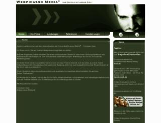 webpicasso.de screenshot
