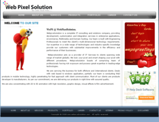 webpixelsolution.com screenshot