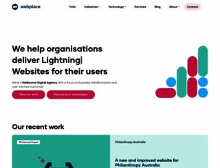 webplace.com.au screenshot
