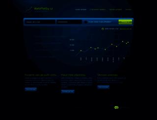 webplatby.cz screenshot