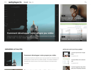 webplayer.tv screenshot