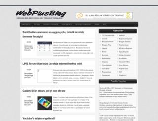 webplusblog.blogspot.com screenshot