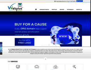 webplusinfotech.net screenshot