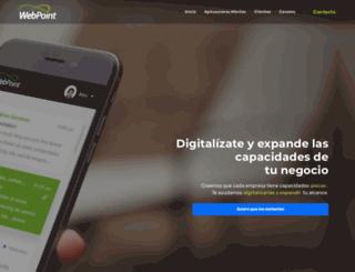 webpoint.mx screenshot