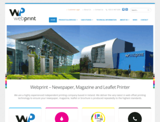 webprint.ie screenshot